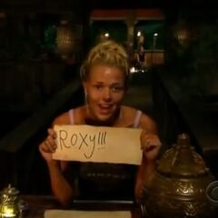 Angie votes for Roxy.
