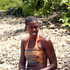 Francesca at the Ometepe Camp.