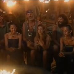 Chaboga Mogo's fourth Tribal Council.