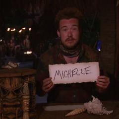 Zeke votes against Michelle.