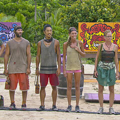 The final 6 compete for Reward.