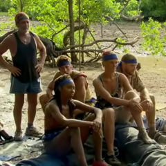 The whole blue team after the challenge.