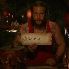 Jason votes against Alecia.