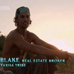 Blake making a <a href=