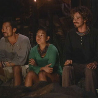 Yul, Becky and Ozzy are the Final Three of <i>Cook Islands</i>.