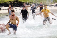Australian-Survivor-Episode-1-Race-For-Fire-Challenge-Brooke2c-Rohan2c-S...