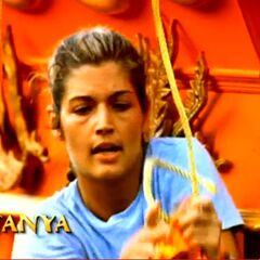 Tanya's motion shot used in second opening.
