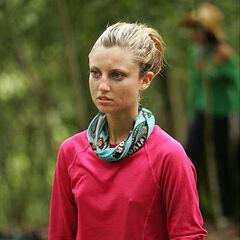 Morgan at the Yaxhá camp.