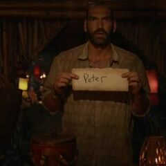 Scot votes against Peter.