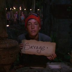 Ciera votes against Andrew for the second time.