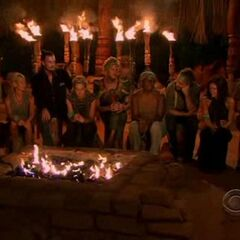 The final nine at Tribal Council.