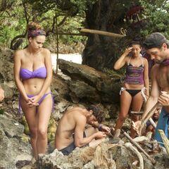 Solana tribe at camp.