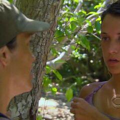 Ciera and her mom Laura strategize.