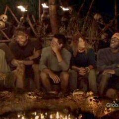 Ravu's last Tribal Council.