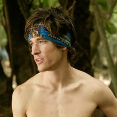 Brett as a member of merged tribe <a href=
