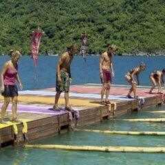 Dangrayne competes in <i>Fish and Game</i> for immunity.