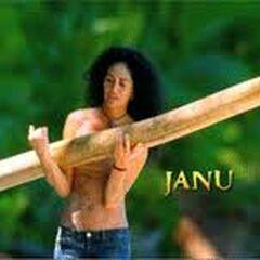 Janu's motion shot in opening.