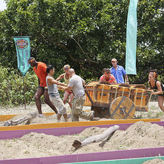 Aparri at the first Immunity Challenge.