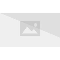 Sandra leading Drake in front of Morgan.