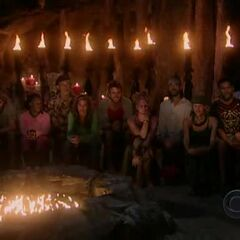 The final 9 at Tribal Council.