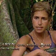 Caryn making a <a href=