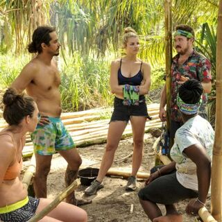 The Tavua tribe at <a href=