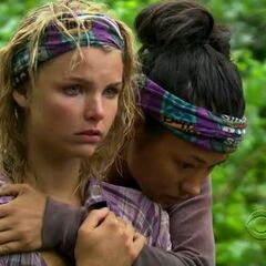 Andrea and Brenda worried about Brandons temper in the game.