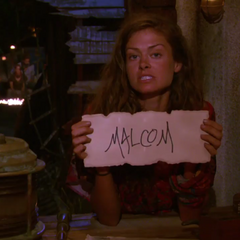 Hali votes against Malcolm.