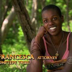 Francesca during her <a href=