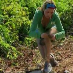 Danielle competes in the first challenge,
