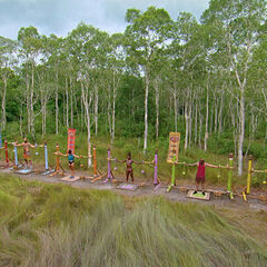 The tribe competes for immunity.