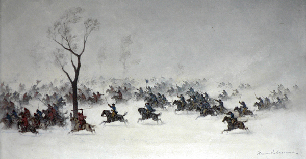 File:Swedish cavalry charges and routs the Russian positions in the Battle of Narva.jpg