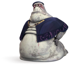 Oruba the Hutt of Nal Hutta