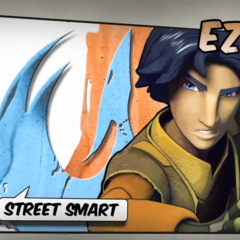 Ezra Bridger: street smart