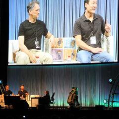 Doug Chiang, Ian McCaig, and Warwick Davis
