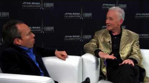Star Wars Celebration Europe - Words with Warwick Anthony Daniels