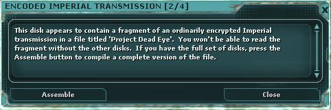 Dead-eye-assembly