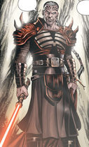 Darth Krayt new armor