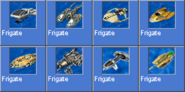 Frigate icons