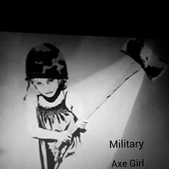 The street art that she made Ty before he left for Afghanistan