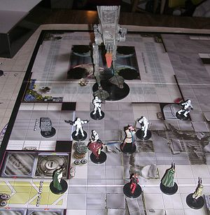 Star Wars Miniatures in play