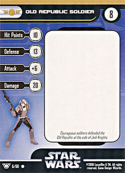 06 CF Card Old Republic Soldier
