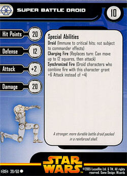 39 RVS Card Super Battle Droid