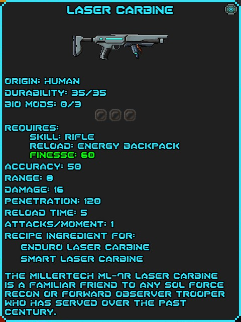 IGI Laser Carbine