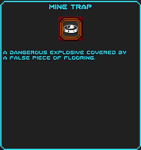 Mine Trap info