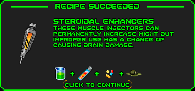 Steroidal enhancers-recipe