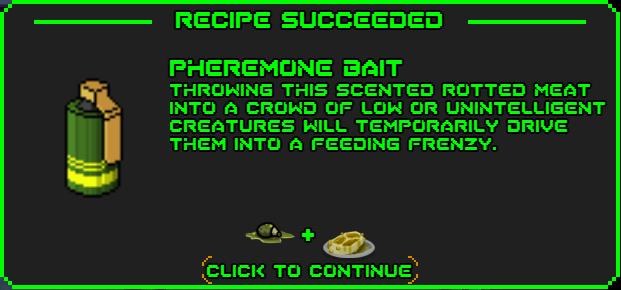 Pheremone bait-recipe