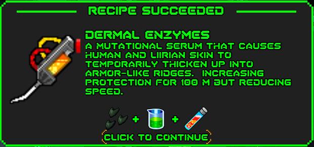 Dermal enzymes-recipe