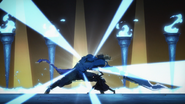 Kirito finishing of The Gleam Eyes BD