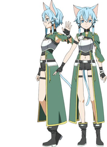 File:Sinon's ALO Avatar Full Body.png